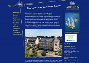 Hotel Albatros in Göhren auf Rügen